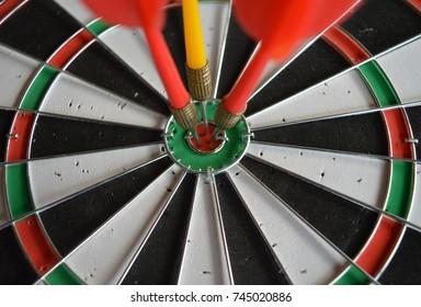 Darts arrows, business goal concept
