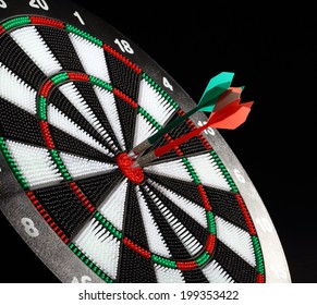 Darts board and safety arrows for kids