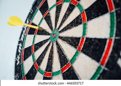 Darts on board