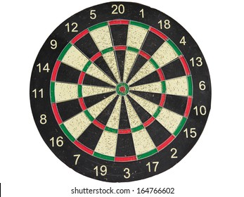 The darts on white background. isolate