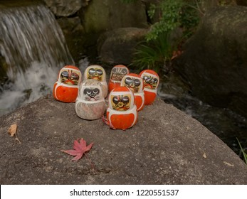 Daruma doll is a Japanese traditional doll which modeled from Bodhiharma, the foundation of Zen tradition of Buddhism.