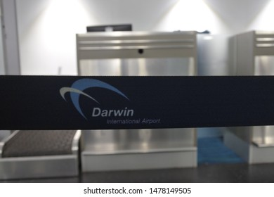 DARWIN - JULY 21 2019:Darwin International Airport. Darwin International Airport is the busiest airport serving the Northern Territory and the tenth busiest airport in Australia.