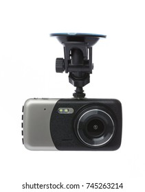 Dash Camera on white background