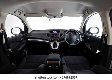 Dashboard - car interior - Illustration
