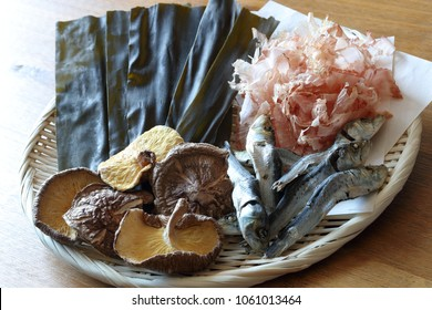 Dashi, Ingredients for japanese soup stock