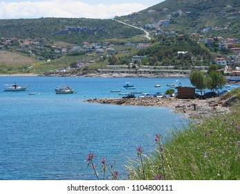 Daskalio beach Keratea Attica Greece