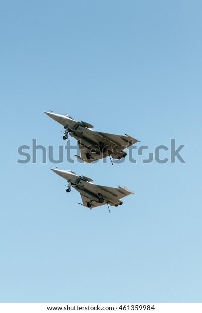 Dassault Rafale flying
