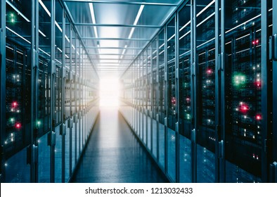 Data center background business concept.