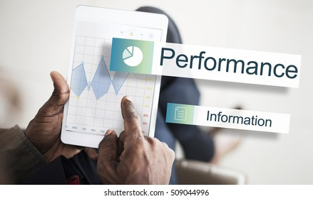 Data Information Analytics Performance Concept