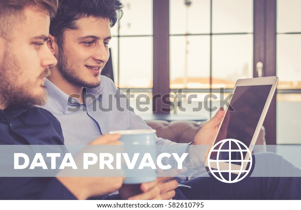 Data Privacy Technology Concept