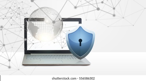 Data protection in a computer network.