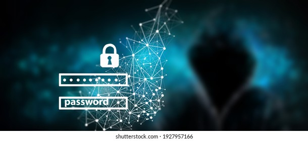 Data protection and cyber security concept
