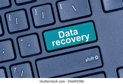 Data recovery words on keyboard button pc