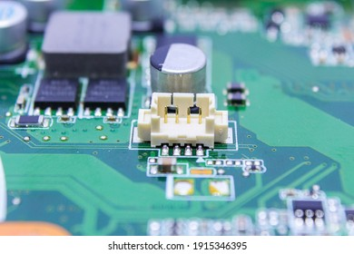 Data transmission line connector on pcb board
