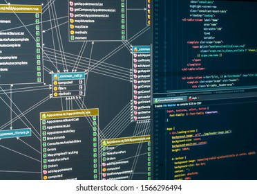 Database Development Planning. Back-end project architecture development. Javascript