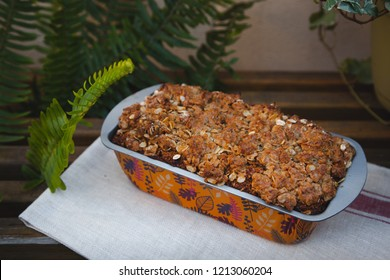 Date wheat bran sweet bread