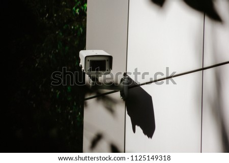 dated camera which monitores stock photo edit now 1125149318