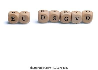 Datenschutzgrundverordnung DSGVO no People