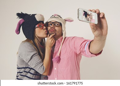 Dating young couple in love