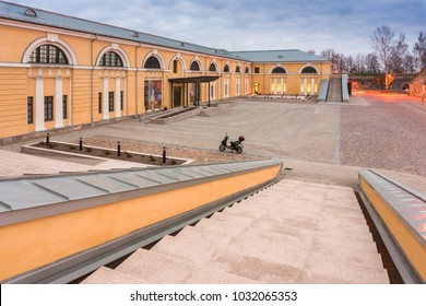 Daugavpils, Latvia - April 30, 2014: Daugavpils Mark Rothko Art Center