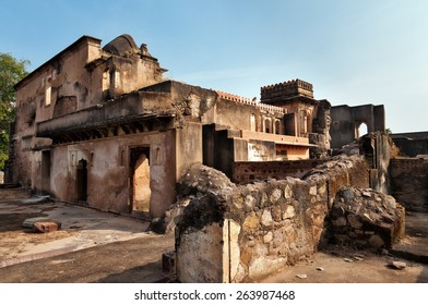 Dauji Ki Kothi in Orchha. Madhya Pradesh. India.