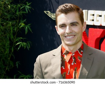 Dave Franco at the Los Angeles premiere of 'The LEGO Ninjago Movie' held at the Regency Village Theatre in Westwood, USA on September 16, 2017.