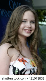Daveigh Chase at the Los Angeles premiere of 'Tiger Cruise' held at the DGA Theatre in Los Angeles, USA on July 27, 2004.