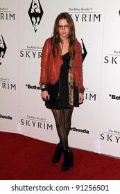 "Daveigh Chase at the ""Skyrim"" Official Launch Party, Belasco Theater, Los Angeles, CA 11-08-11"