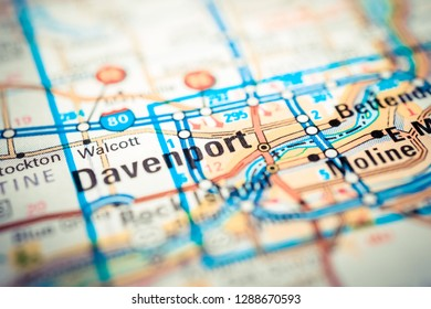 Davenport on the map
