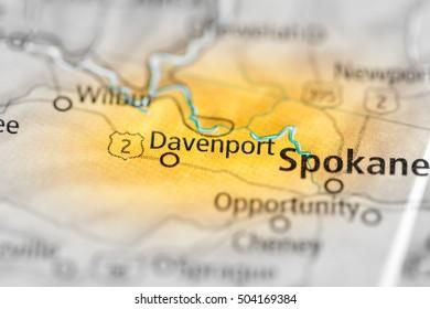 Davenport Washington Map.Davenport Map Images Stock Photos Vectors Shutterstock