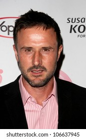 David Arquette   at the concert to promote the 10th Anniversary of Yoplait's Save Lids To Save Lives Program. The Wiltern Theatre, Los Angeles, CA. 10-10-08