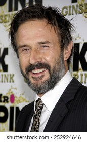 David Arquette at the Mr. Pink Ginseng Drink Launch Party held at the Regent Beverly Wilshire Hotel in Los Angeles, California, United States on October 11, 2012.