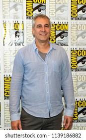 "David Bartis attends Comic-Con International San Diego 2018 - Syfy's ""Nightflyers"" press room, San Diego, California on July 19, 2018"