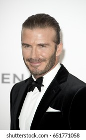 David Beckham attends the amfAR Gala Cannes 2017 at Hotel du Cap-Eden-Roc on May 25, 2017 in Cap d'Antibes, France. During Cannes film festival 2017
