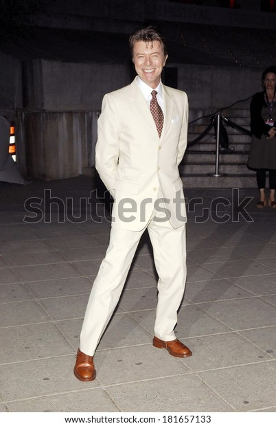 David Bowie at Vanity Fair Party for the 6th Annual Tribeca Film Festival, New York State Supreme Courthouse, New York, NY, April 24, 2007