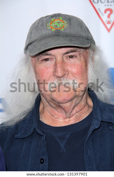 David Crosby at the Light Up The Blues Concert Benefiting Autism Speaks, Club Nokia, Los Angeles, CA 04-13-13