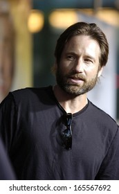 David Duchovny at THE 40 YEAR-OLD VIRGIN Premiere, The Arclight Cinema, Los Angeles, CA, August 11, 2005