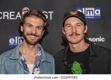 """David Farino, Bryce McGuire attends 19th Annual Horror Film Festival - Screamfest - """"Rabid"""" Los Angeles Premiere - Arrivals at TCL Chinese Theatre, Hollywood, CA on October 16, 2019"""