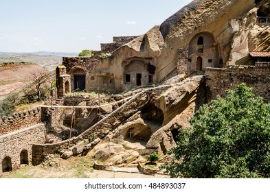 David Gareja monastery complex, Georgia. Kakheti.