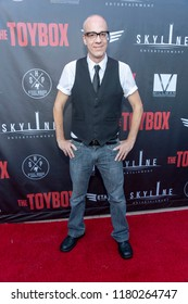 """David Greathouse attends  Skyline Entertainment's  """"The ToyBox"""" Los Angeles  Premiere at Laemmle's NoHo 7, North Hollywood, California on September 14th, 2018"""