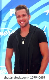David Hernandez at the American Idol Season 12 Finale Arrivals, Nokia Theater, Los Angeles, CA 05-16-13