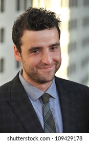 """David Krumholtz at the Los Angeles premiere for HBO's new series """"The Newsroom"""" at the Cinerama Dome, Hollywood. June 21, 2012  Los Angeles, CA Picture: Paul Smith / Featureflash"""