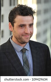 "David Krumholtz at the Los Angeles premiere for HBO's new series ""The Newsroom"" at the Cinerama Dome, Hollywood. June 21, 2012  Los Angeles, CA Picture: Paul Smith / Featureflash"