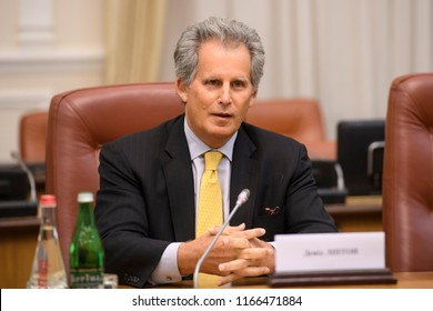 David Lipton, the First Deputy Managing Director of the IMF during a visit to Kyiv, Ukraine. 13-09-2017