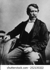 David Livingstone, (1813-1873), Scottish missionary and explorer in Africa, c. 1850's.