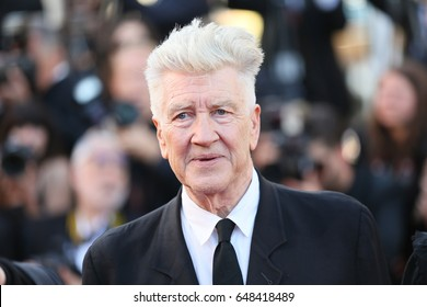David Lynch attends the 70th Anniversary of the 70th annual Cannes Film Festival at Palais des Festivals on May 23, 2017 in Cannes, France.