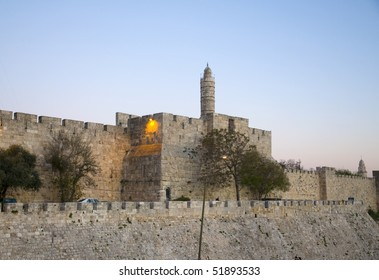 David tower in the old city of Jerusalem