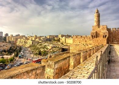 David's tower (citadel), the old city of Jerusalem, Israel