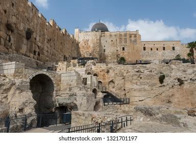 At The Davidson Center in Jerusalem, Israel