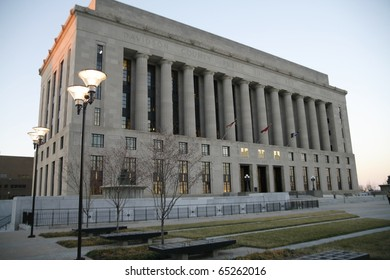 Davidson County Courthouse in Nashville Tennessee